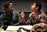 Rodney Gilbert and Kala Moses Baxter in TRENTON LIGHTS
